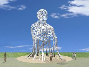 A major work of public art for the future Bonaventure gateway