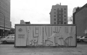 La restauration d'oeuvres d'art public à l'Université Concordia : le cas Théberge