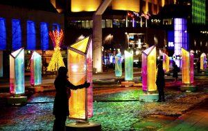 3 installations du Quartier des spectacles brilleront à l'étranger
