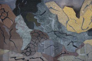 Art public au campus des sciences de l'UQAM : Montagne de Françoise Sullivan