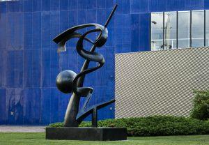 Le Cirque du Soleil inaugure son jardin d'oeuvres d'art