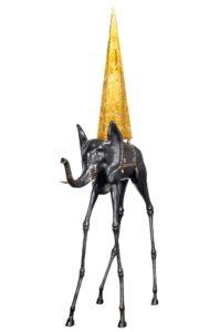 Une sculpture de Salvador Dali fait escale dans le Sud-Ouest