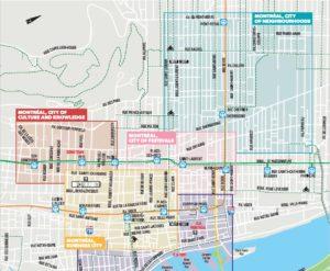 The new public art map has arrived!   Art Public Montréal